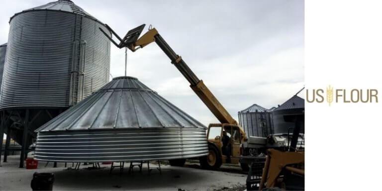 Technology Used For Preparing Grains Bins
