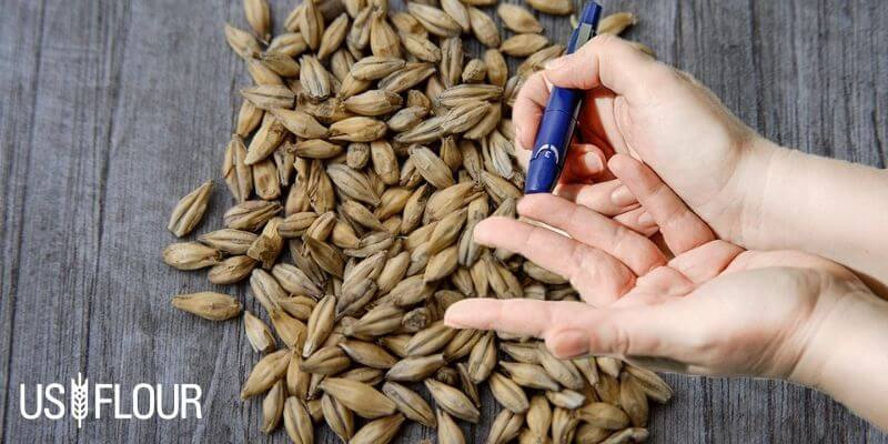 whole grains controls blood sugar
